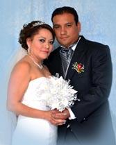 Vanessa y Omar vivieron uno de los mejores días de su vida, pues unieron sus almas en sagrado matrimonio.